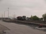 KCS 4355 leads a switching group at 9:41am