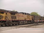 UP 7279 #2 power in an EB coal train at 10:03am