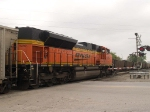 BNSF 9392 rear DPU in an EB coal train at 10:01am