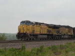 UP 6506 leads a EB coal drag at 1:38pm