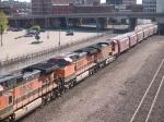BNSF 1019 #2 power in a WB grain train at 9:17am