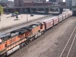 BNSF 4591 #3 power in a WB grain train at 9:17am