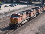BNSF 4036 leads an EB Z-train at 9:42am