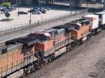 BNSF 1062 #2 power in an EB Z-train at 9:42am