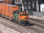 BNSF 2217 leads an EB doublstack at 10:32am