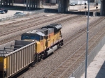 UP 8096 rear DPU in an EB empty coal train at 10:49am