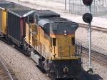 UP 8115 rear DPU in an EB empty coal train at 12:02pm