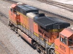 BNSF 4409 leads a WB doublestack at 12:24pm