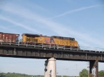 UP 5660 rear DPU on an EB coal train at 8:08am