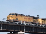UP 6781 leads an EB coal train at 8:59am