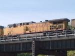 UP 7132 #1 DPU in a WB coal train at 9:12am