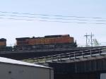 BNSF 5313 leads a WB grain train at 9:33am