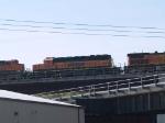 BNSF 6865 #2 power in a WB grain train at 9:33am