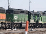BNSF 8049 #2 power in a WB manifest at 9:50am