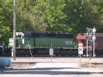 BNSF 6815 #2 power in an EB grain train at 9:50am