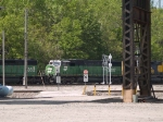 BNSF 8187 #2 power in an EB doublestack local at 10:40am