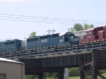 HLCX 6255 #5 power in a WB manifest at 10:44am