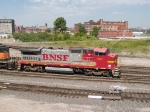 BNSF 566 leads a WB manifest at 11:01am