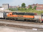 BNSF 6936 #2 power in a WB manifest at 11:01am