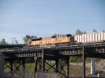 UP 8096 rear DPU in a WB coal train at 7:52am