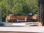 BNSF 5271 leads an EB piggy-back at 10:20am