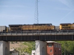 UP 7019 #2 power in a WB coal train at 10:36am