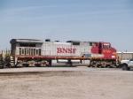 BNSF 4700 #2 rear DPU on a manifest at 10:32am
