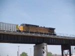 UP 7198 rear DPU on an EB coal train at 10:58am