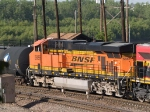 BNSF 5886 #3 power in a WB manifest at 5:51pm