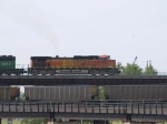 BNSF 4825 leads an EB doublestack at 5:02pm