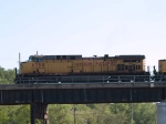 UP 6750 leads an EB coal train at 5:59pm