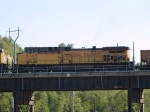 UP 5745 #2 power in an EB coal train at 5:59pm