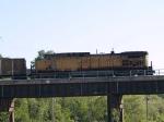 UP 6768 rear DPU in an EB coal train at 5:59pm