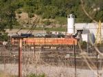 BNSF 5376 leads a SB grain train at 6:43pm
