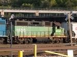 BNSF 1500 #2 power in a NB manifest at 7:14pm