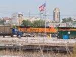 BNSF 6131 #2 power in a SB coal train at 4:03pm
