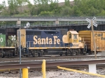 BNSF 2631 #2 power in a NB manifest at 4:14pm