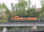 BNSF 8022 leads an EB piggyback at 5:23pm