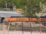 BNSF 6076 #2 power in a SB coal train at 5:47pm