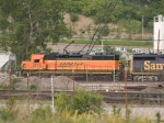 BNSF 2776 #2 power in a SB manifest at 6:20pm