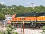 BNSF 2291 #2 power in a SB light power move at 4:32pm