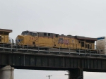 UP 5472 #2 power in an EB manifest at 10:54am