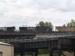 NS 8818 #3 power in an EB grain train at 12:11pm