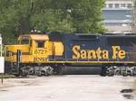 BNSF 8721 #2 power in a SB coal train at 12:16pm