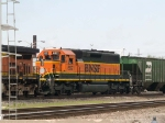BNSF 6921 #2 power in a SB manifest at 2:23pm
