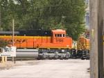 BNSF 9198 #3 power in a SB coal train at 2:26pm