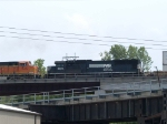 NS 2528 #5 power in an EB doublestack at 2:37pm