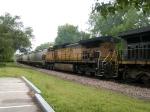 BNSF 4572 #2 power in a WB grain train at 1:14pm