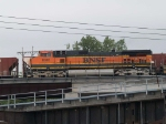 BNSF 1088 leads an EB doublestack at 5:55pm