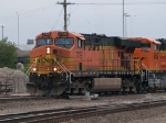 BNSF 7729 leads a SB manifest at 7:39pm